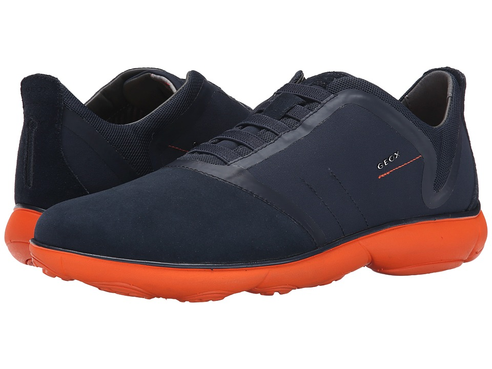 Geox - U Nebula 14 (Navy/Orange) Men's Shoes