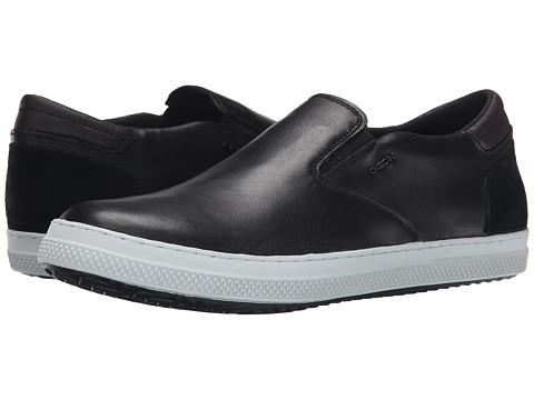 Geox - U Smart 46 (Black) Men's Slip on Shoes