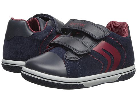 Geox Kids - Flick Boy 32 (Toddler) (Dark Navy/Red) Boys Shoes