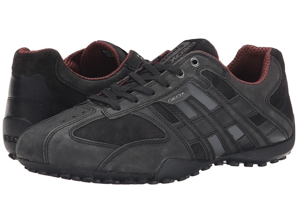 Geox Uomo Snake 105 (Black/Grey) Men's Shoes
