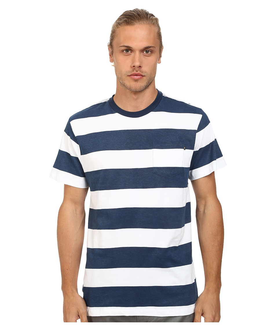 Obey - Mainline Pocket Tee (Navy Multi) Men's T Shirt