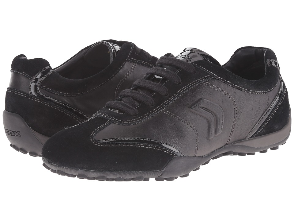 Geox - D Snake 70 (Black) Women's Lace up casual Shoes