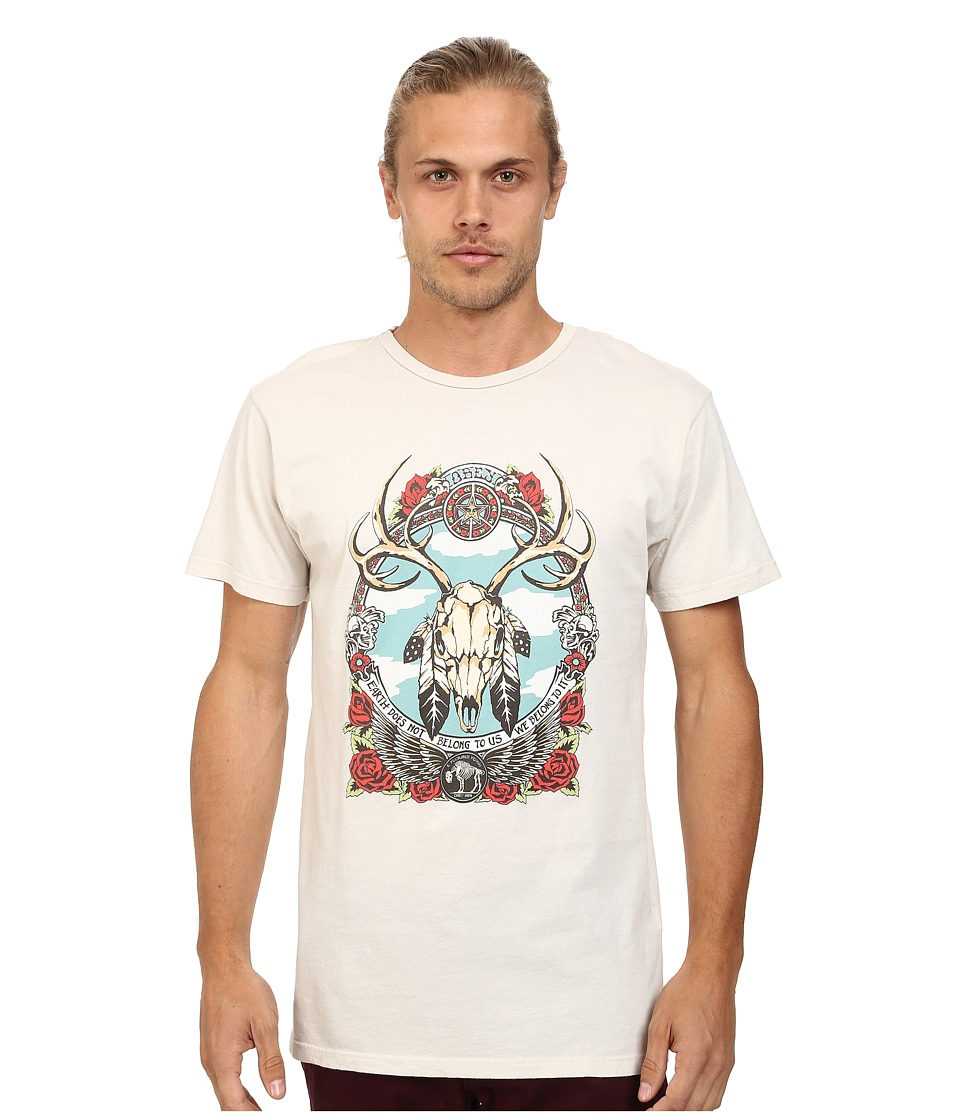 Obey - Stolen Land Lightweight Tee (Fog) Men's T Shirt