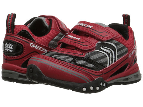 Geox Kids - Tornado 12 (Toddler/Little Kid) (Red/Black) Boy's Shoes