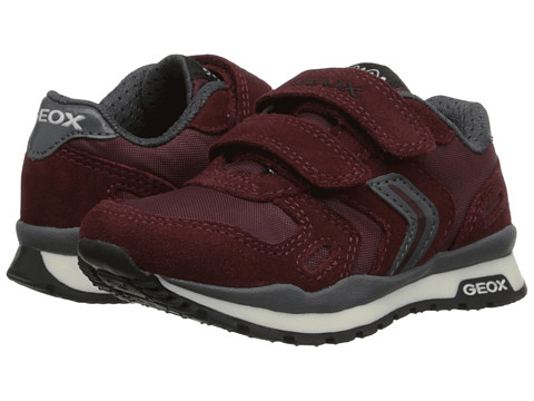 Geox Kids - Pavel 1 (Toddler/Little Kid) (Bordeaux) Boy's Shoes