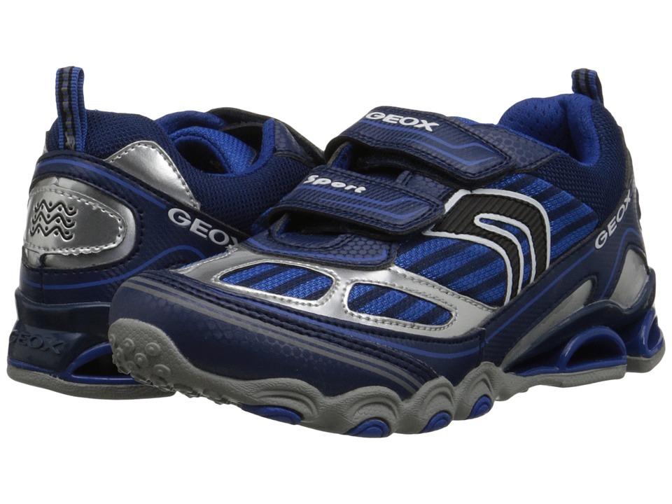 Geox Kids - Tornado 12 (Little Kid/Big Kid) (Navy/Royal) Boy's Shoes