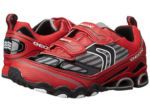 Geox Kids - Tornado 12 (Big Kid) (Red/Black) Boy's Shoes