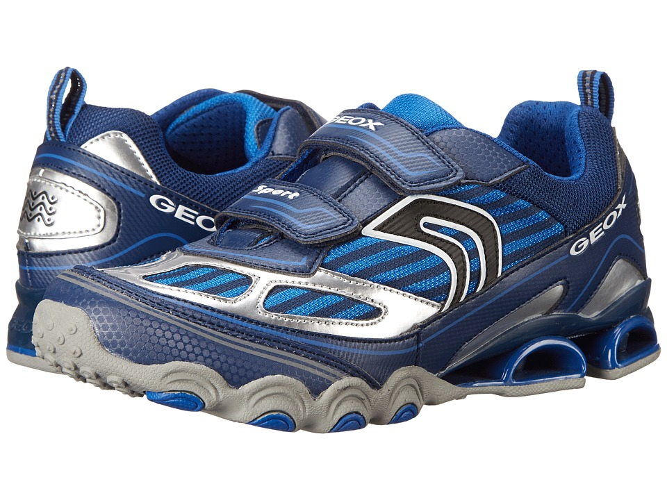 Geox Kids - Tornado 12 (Big Kid) (Navy/Royal) Boy's Shoes