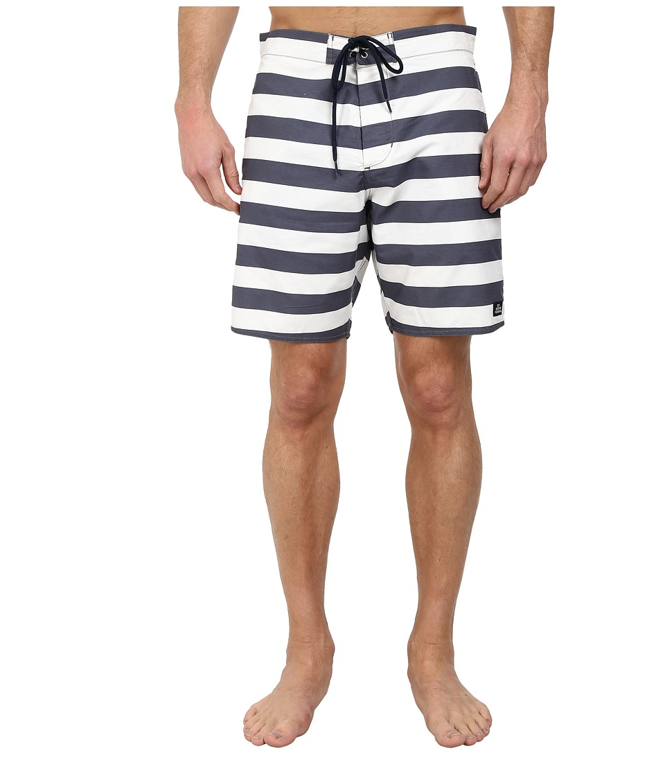 Obey - Mainline Street Trunk (Blue Multi) Men's Swimwear