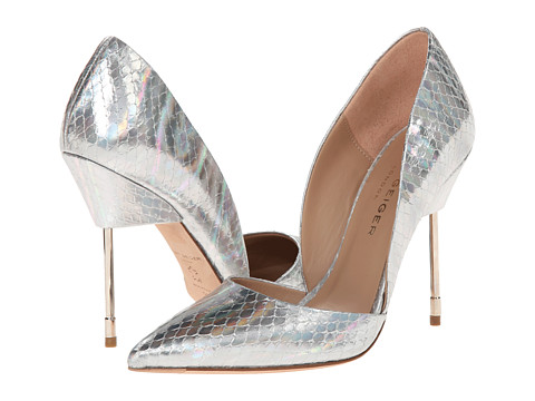 Kurt Geiger - Bond (Silver Leather) High Heels