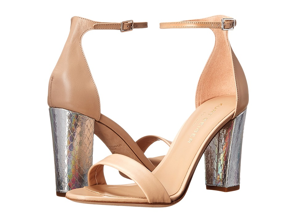 Kurt Geiger - Isabella (Nude Leather) High Heels