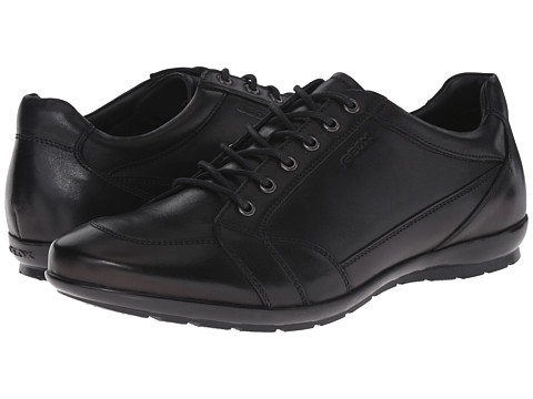 Geox - Uomo Symbol 14 (Black) Men's Lace up casual Shoes