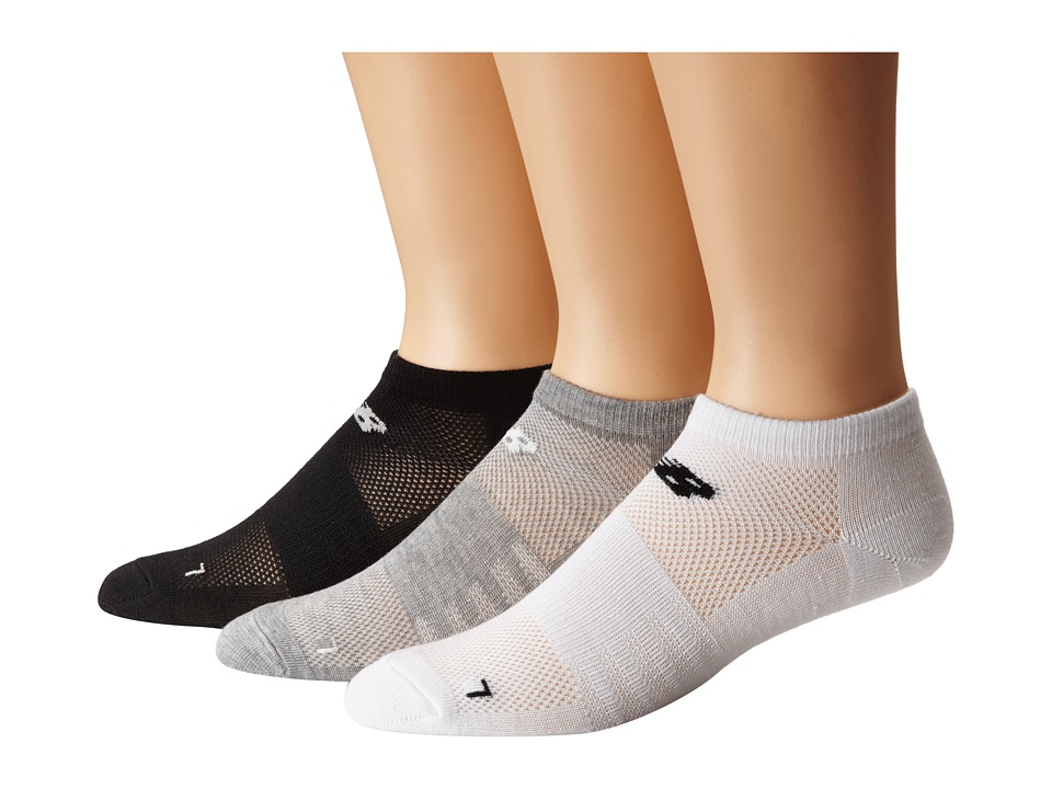 New Balance - No Show 3-Pack (Toddler/Little Kid/Big Kid) (Assorted) No Show Socks Shoes