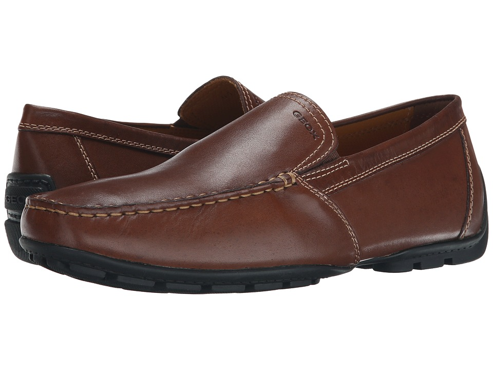 Geox - U Monet 19 (Coffee) Men's Slip on Shoes