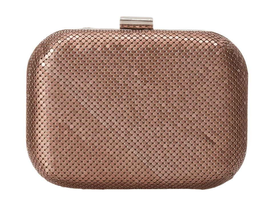 Jessica McClintock - Mesh Minaudi re (Blush) Handbags