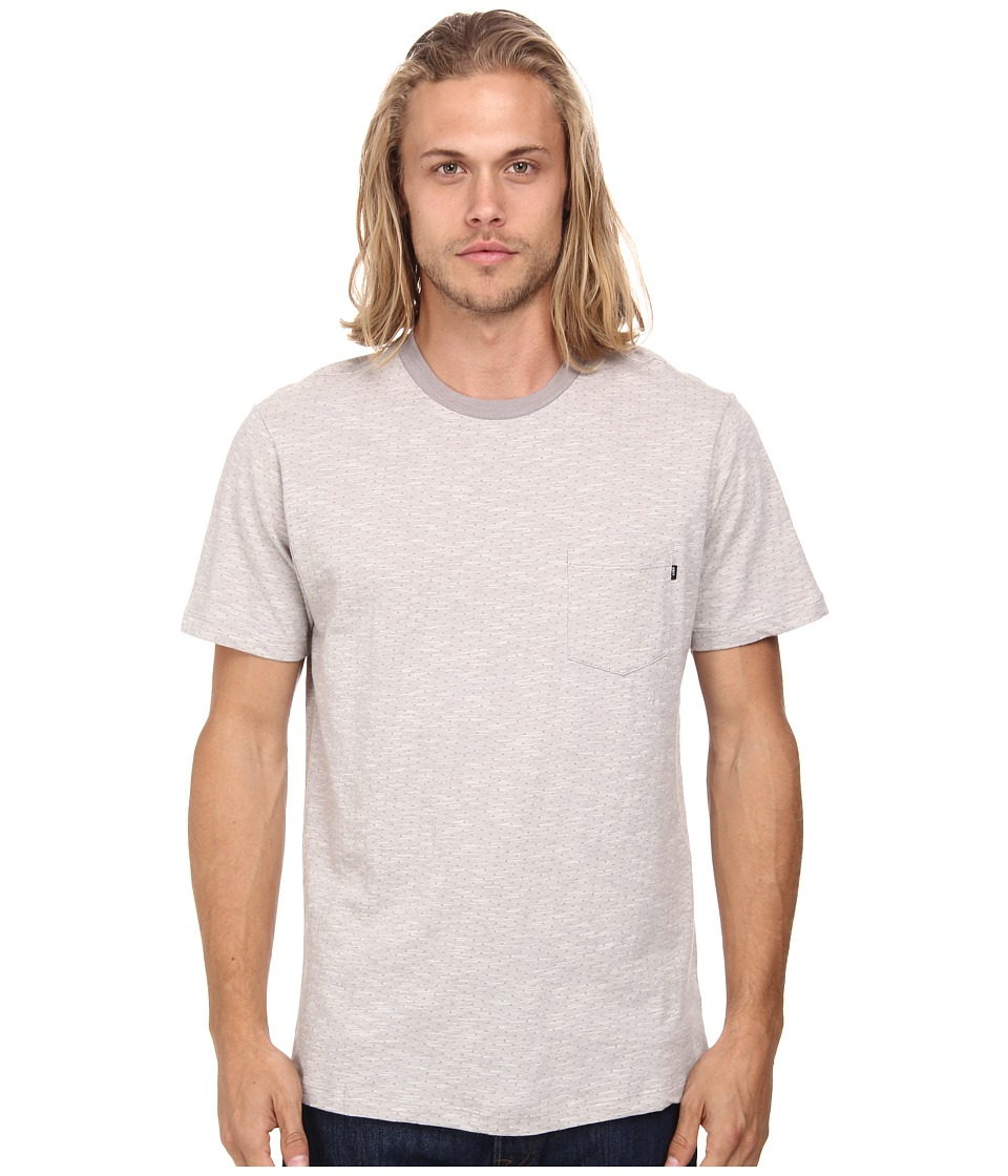 Obey - Revolt Pocket Tee (Grey) Men's T Shirt