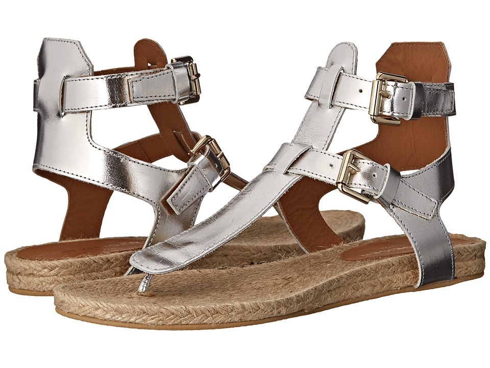 Kurt Geiger - Marla (Silver Leather) Women's Sandals