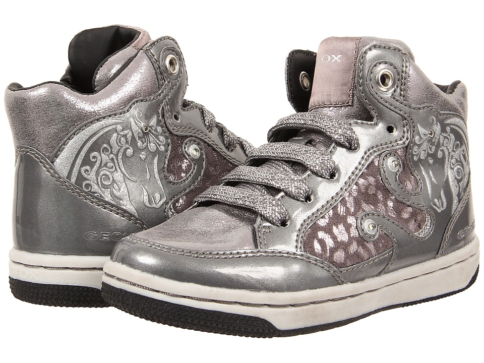 Geox Kids - Creamy 23 (Toddler/Little Kid) (Silver) Girl's Shoes