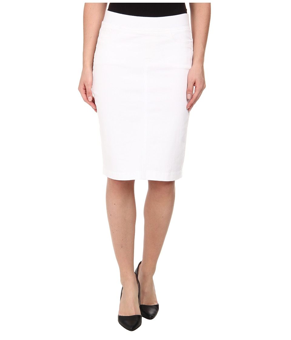 NYDJ - Caitlyn Skirt - Endless (White) Women's Skirt