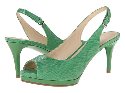 Nine West - Cinema (Green Leather) High Heels