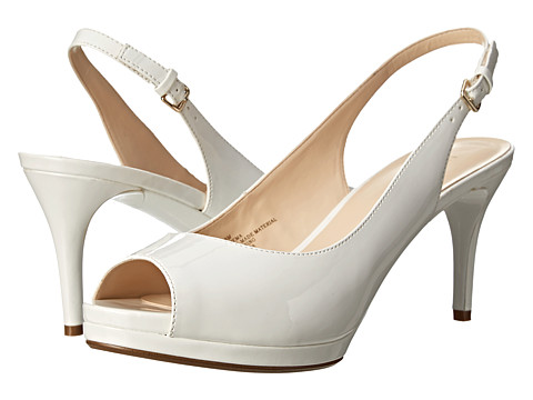 Nine West - Cinema (White Synthetic) High Heels