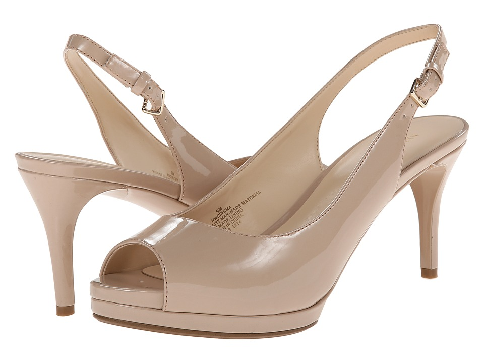 Nine West - Cinema (Natural Synthetic) High Heels