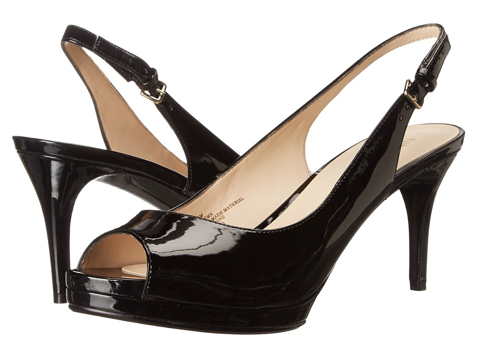 Nine West - Cinema (Black Synthetic) High Heels