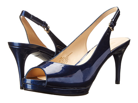 Nine West - Cinema (Blue Synthetic) High Heels
