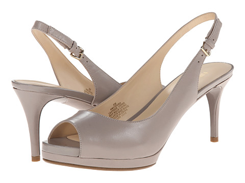 Nine West - Cinema (Grey Leather) High Heels