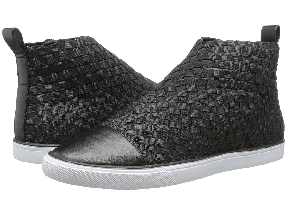 Nine West - Beesting (Black/Black Fabric) Women's Slip on Shoes