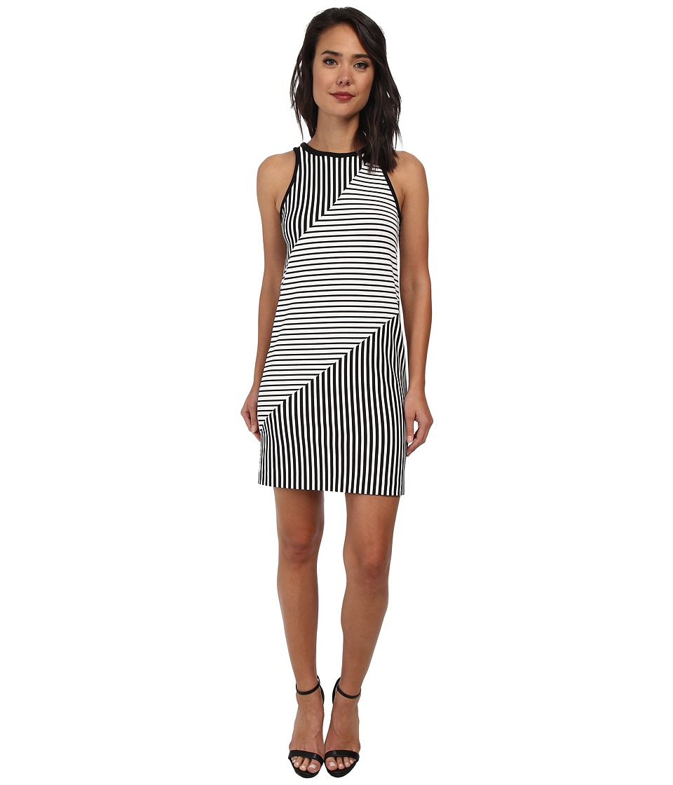 Rebecca Minkoff Brady Dress (Black/White) Women