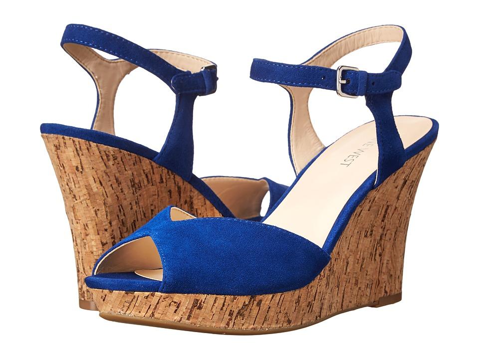 Nine West - Bigeasy (Blue Suede) Women