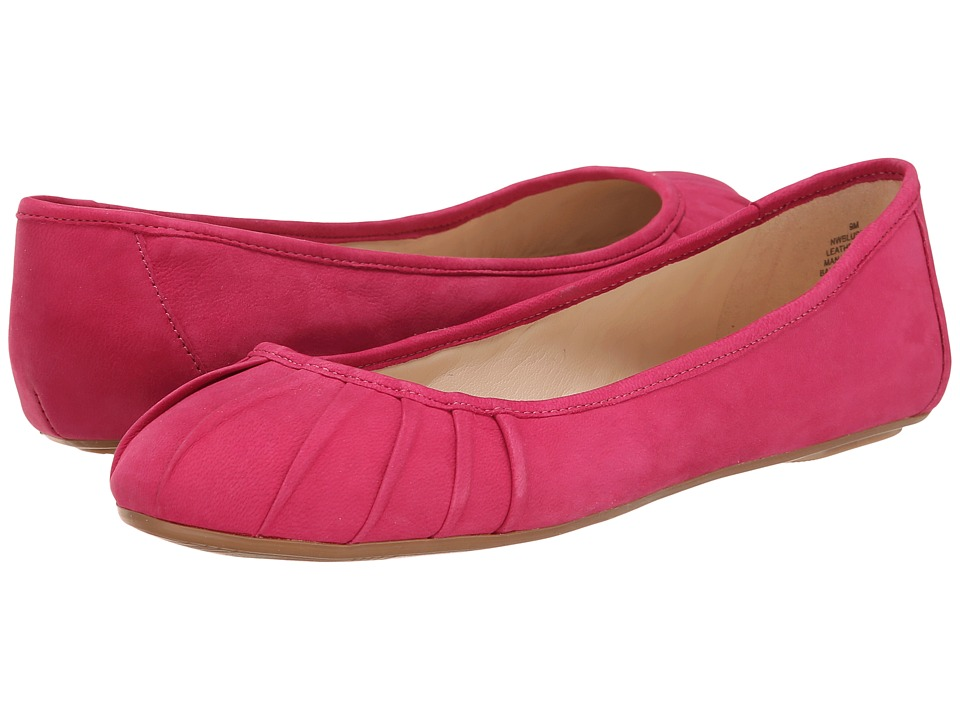 Nine West - Blustery (Pink Nubuck) Women's Flat Shoes