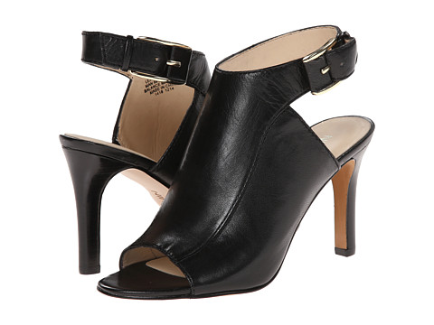 Nine West - Webber (Black/Black Leather) High Heels