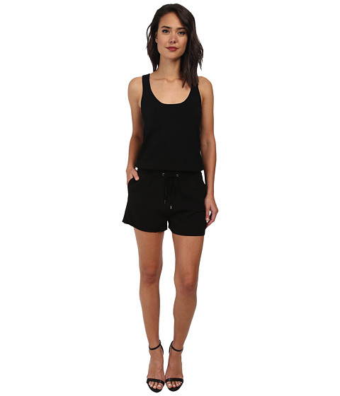 Rebecca Minkoff - Ava Romper (Black) Women's Jumpsuit & Rompers One Piece
