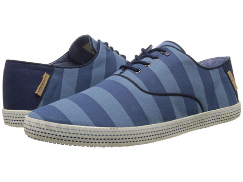 Ted Baker - Tobii (Blue Textile) Men's Lace up casual Shoes