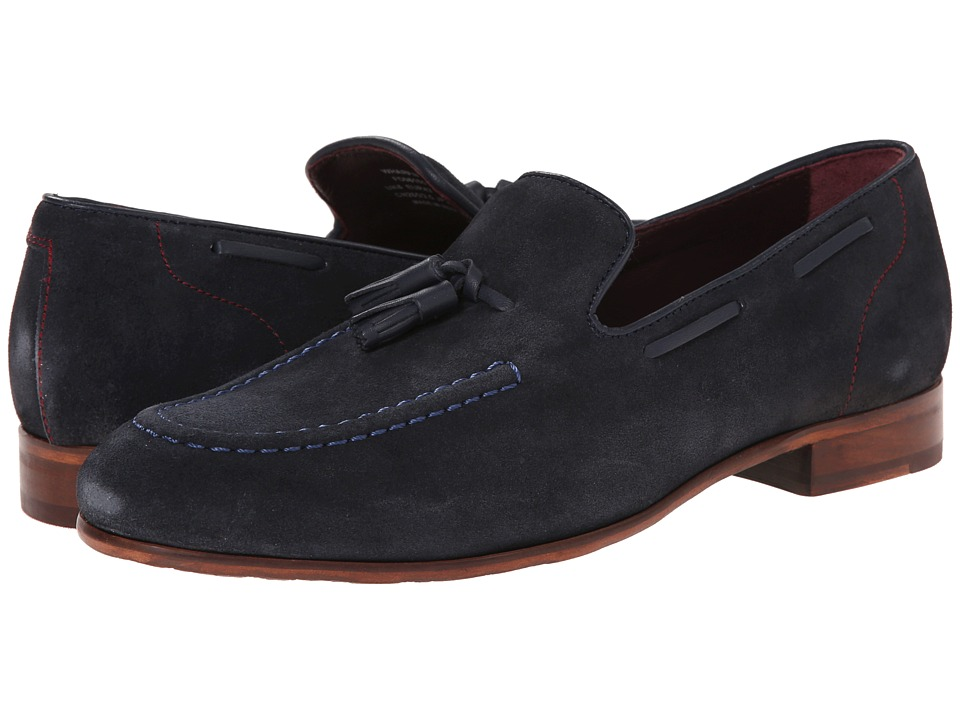 Ted Baker - Wharen (Dark Blue Suede) Men's Shoes