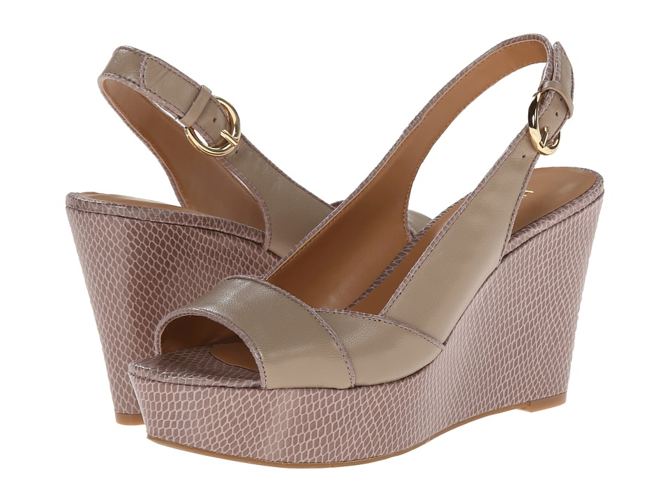 Nine West - Caballo (Taupe/Taupe Leather) Women