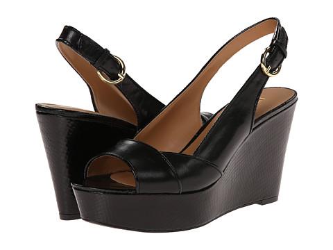 Nine West - Caballo (Black/Black Leather) Women