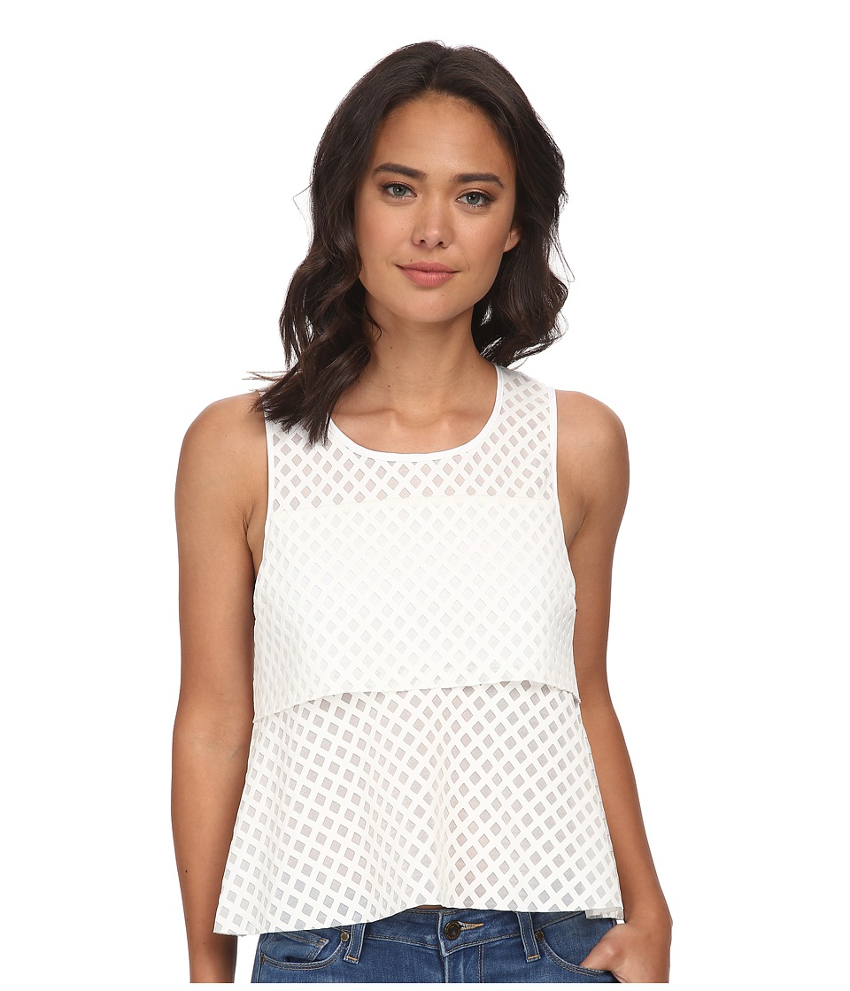 Rebecca Minkoff - Kristine Top (Marshmellow) Women's Sleeveless