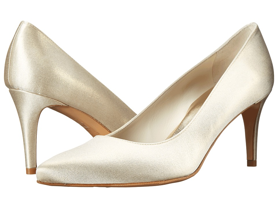 Stuart Weitzman Bridal & Evening Collection - Pinot (Gold Raso) Women's Shoes