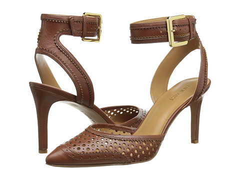 Nine West - Calypso (Brown/Brown Leather) High Heels