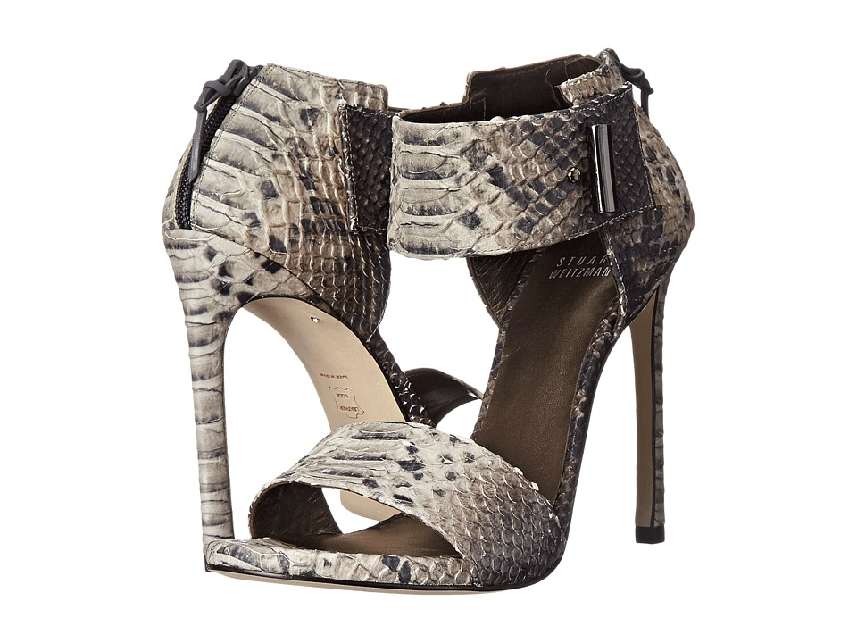 Stuart Weitzman Aloof (Rock Diamondback) High Heels