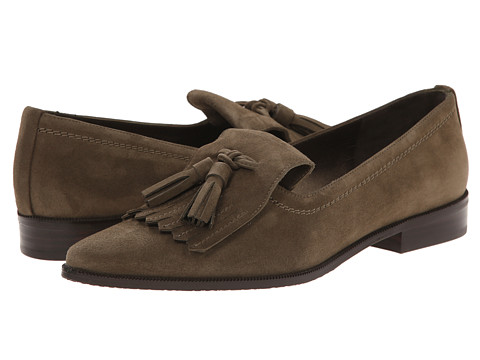 Stuart Weitzman - Avatass (Loden Suede) Women's Slip-on Dress Shoes