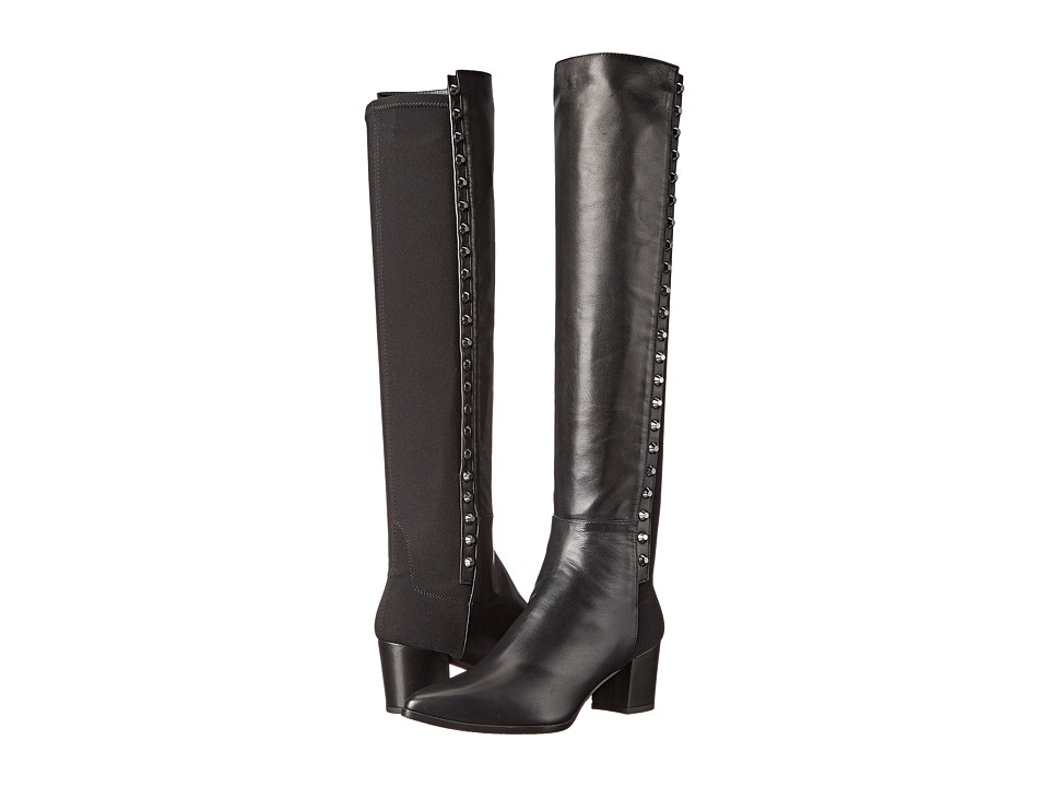 Stuart Weitzman - Ballast (Black Nappa) Women's Dress Pull-on Boots
