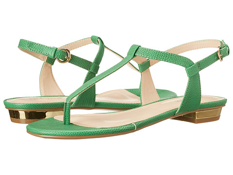 Nine West - Unlock (Green Synthetic) Women's Sandals