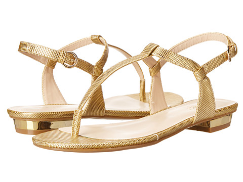 Nine West - Unlock (Gold Synthetic) Women