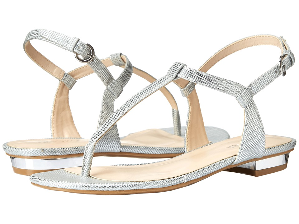 Nine West - Unlock (Silver Synthetic) Women's Sandals