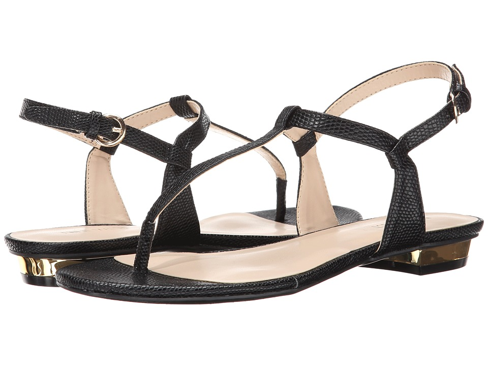 Nine West - Unlock (Black Synthetic) Women's Sandals