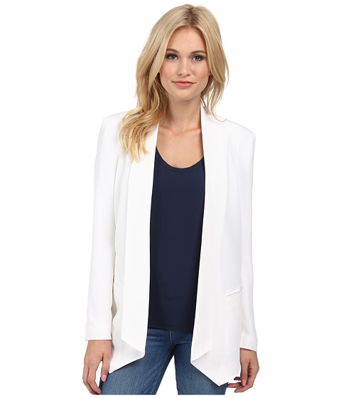 Rebecca Minkoff - Long Becky Jacket (White) Women's Coat
